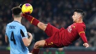 Roma-Lazio, errori e pareggio: 1-1.Parma-Udinese 2-0Samp-Sassuolo 0-0Verona-Lecce 3-0Inter, altro pareggio: 1-1 con il Cagliari. Gol e rosso per Lautaro, lo sputo di Ranocchia video · Alle 20:45 Napoli-Juve