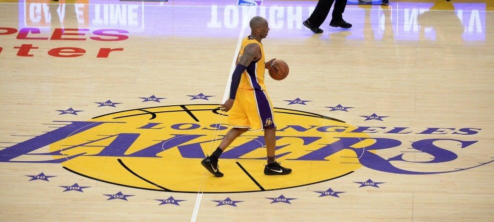 Kobe Bryant, immagini di una carriera