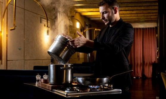 Entusiasmo, irrequietezza, ricerca: la cucina di Riccardo Di Giacinto