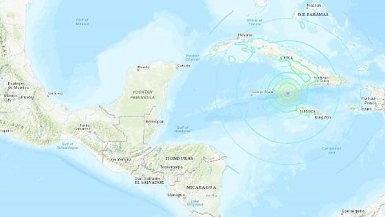 Terremoto da 7.7 tra Cuba, Giamaica e le Isole Cayman. Poi una seconda scossa da 6.3