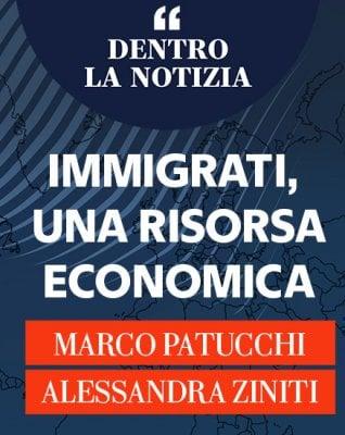 """Patucchi e Ziniti: """"Immigrati, una risorsa economica"""""""