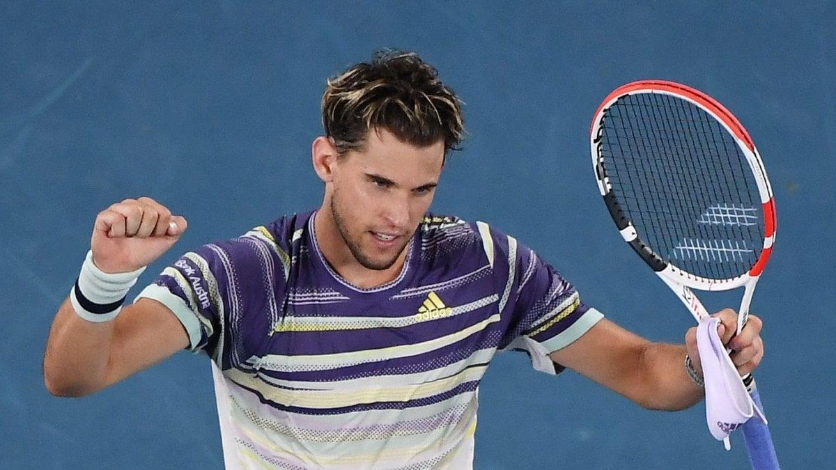 Tennis, Australian Open: Thiem elimina Nadal, è semifinale contro Zverev