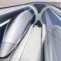 I treni ultra veloci di Hyperloop sbarcano in Italia. O quasi