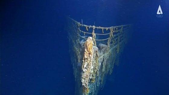 Giallo nei fondali atlantici, relitto del Titanic urtato da un sottomarino