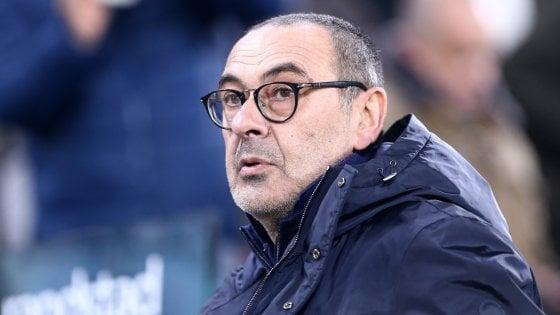"""Juventus, Sarri: """"Mie frasi strumentalizzate, ma capisco rabbia tifosi"""""""