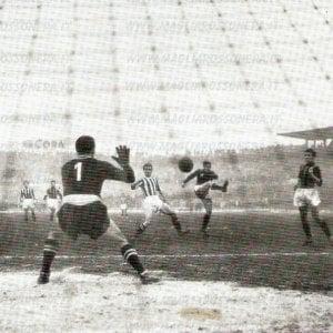 Settant'anni fa Juve-Milan 1-7, prima partita di A trasmessa in tv