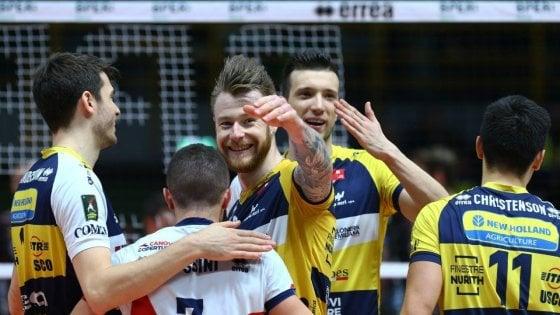 Volley, Superlega: Modena batte Civitanova, Perugia aggancia la vetta