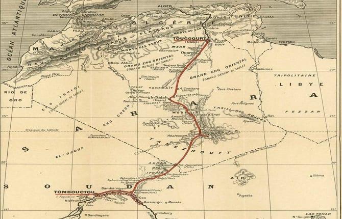 Citroen Ë.Popée, nel Sahara 100 anni dopo