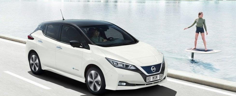 Nissan Leaf, la guida autonoma si avvicina
