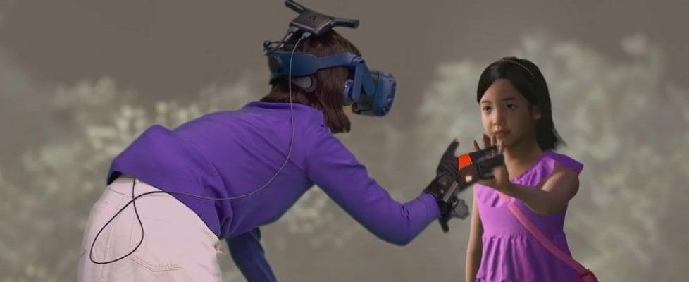 """Una mamma """"incontra"""" la figlia morta grazie alla realtà virtuale. L'esperienza in un documentario"""