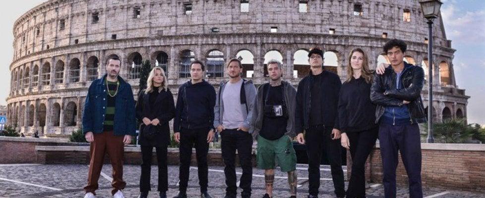 'Celebrity Hunted', da Totti a Fedez fino a Santamaria, otto celebrità in fuga