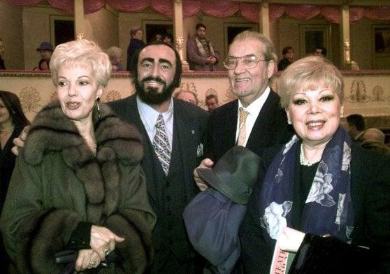Morta Mirella Freni, grande soprano e sorella di latte di Pavarotti