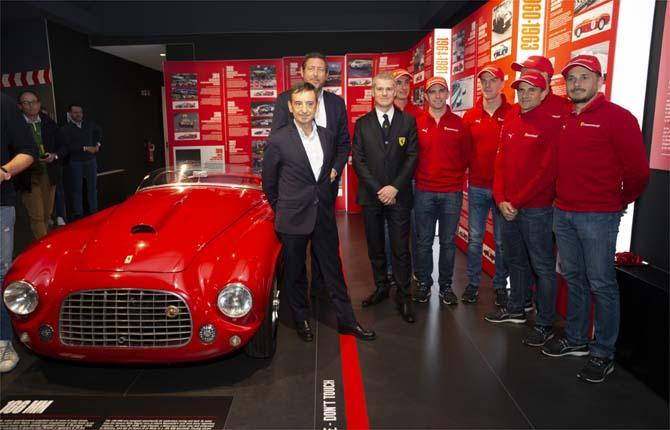"Museo di Maranello, inaugurata ""Ferrari at 24 Heures du Mans"""