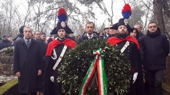 """Foibe, Casellati: """"Genocidio programmato contro gli italiani"""". Polemiche a Basovizza"""