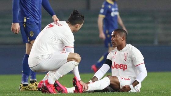 Juventus, il fragile Douglas Costa: ha già saltato un intero campionato