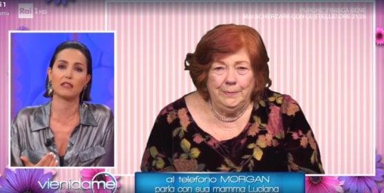 """Sanremo 2020, la madre di Morgan: """"Mio figlio non è un mostro"""""""