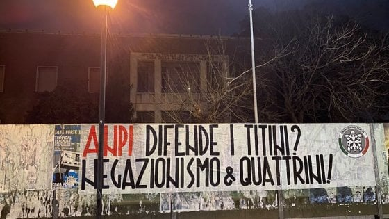 CasaPound accusa l'Anpi di negazionismo sulle Foibe. Decine di manifesti in tutta Italia