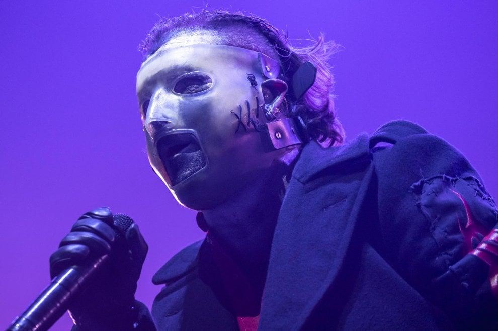 Slipknot, dal vivo a Milano: gli scatti di un concerto esplosivo