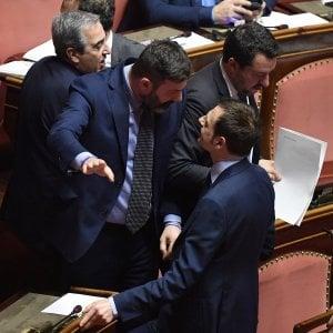 Caso Gregoretti, Salvini incendia l'aula e si arriva alle mani