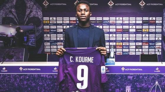 """Fiorentina, ecco Kouamè e la ricetta antirazzismo: """"Se mi insultano io ci rido sopra"""""""