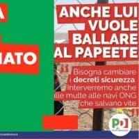 """Migranti, """"anche lui vuole ballare al Papete"""". Polemica sul post del Pd Lazio che poi..."""