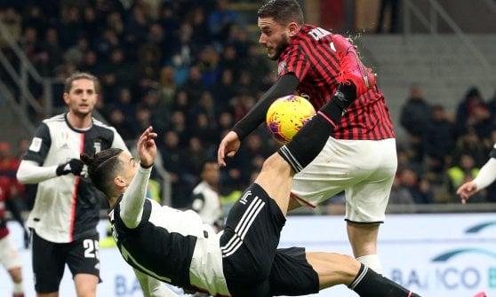 Coppa Italia, Milan-Juventus 1-1: Ronaldo salva i bianconeri al 91'
