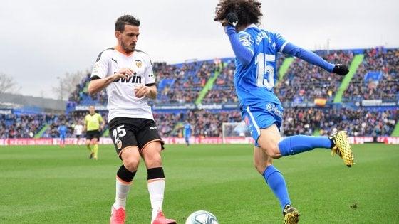 Valencia, la settimana nera di Florenzi: prima l'espulsione, poi la varicella. Salterà l'Atalanta in Champions