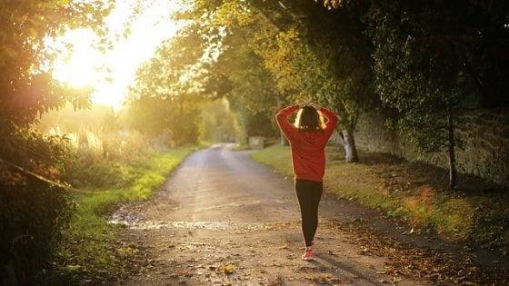 Per non ingrassare la camminata da sola non basta