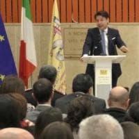 """Conte in Calabria per il Piano Sud 2030: """"Da qui parte il cantiere per l'Italia di domani"""""""