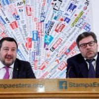 """Salvini rievoca l'Italexit poi frena: """"L'Ue deve cambiare o non ha più senso"""""""