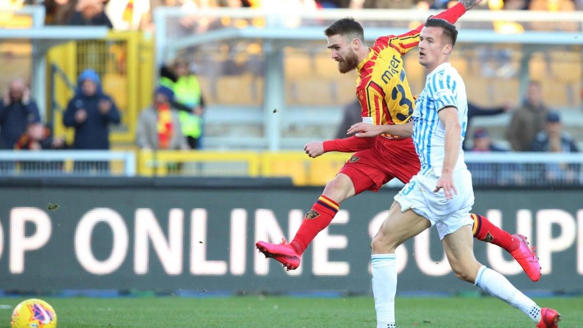 Lecce-Spal 2-1, Majer rende amaro l'esordio di Di Biagio