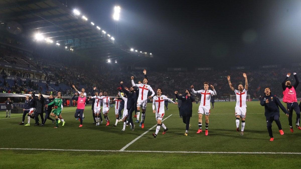 Bologna-Genoa 0-3: Soumaoro, Sanabria e Criscito. Liguri si ...