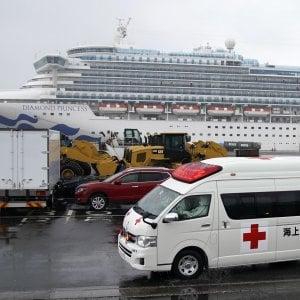 Coronavirus: Giappone, altri 70 positivi sulla Diamond, in tutto sono 355