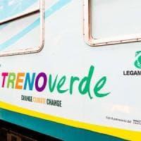 Riparte il Treno Verde di Legambiente, dedicato al clima che cambia