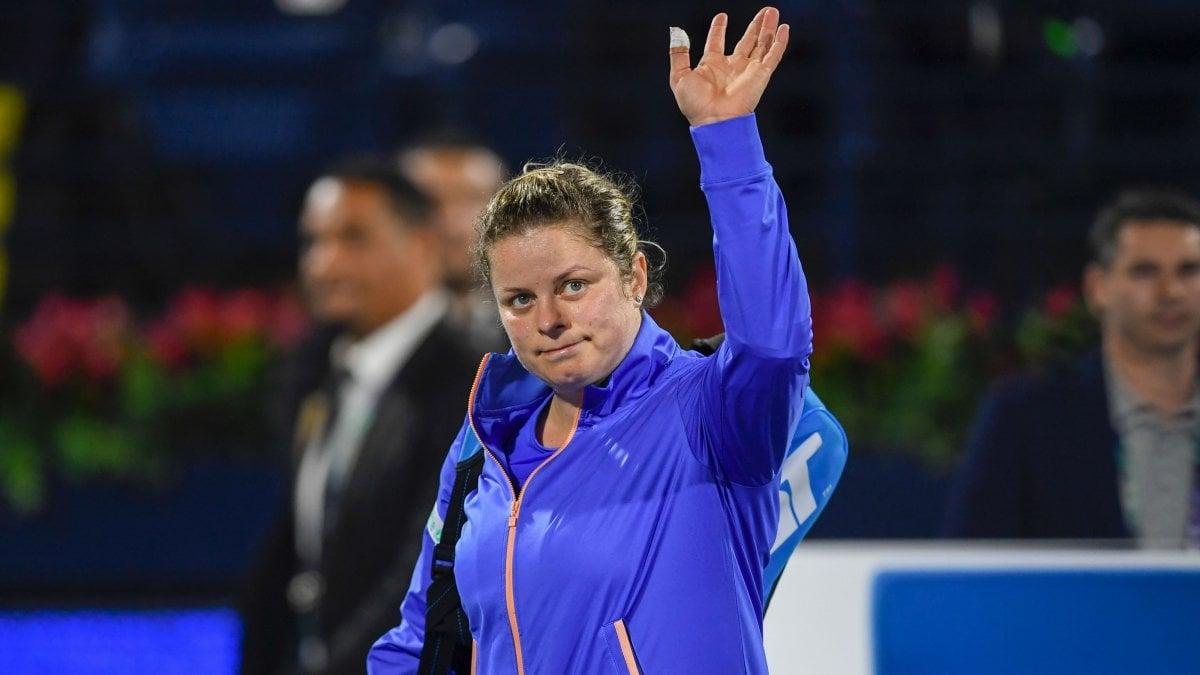Tennis, rientro con sconfitta per Kim Clijsters: Muguruza vince in due ...