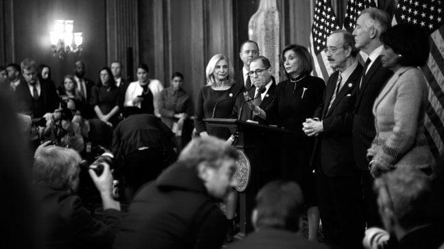 """Il fotoreporter David Burnett: """"Con i miei scatti ho raccontato i tre impeachment"""""""