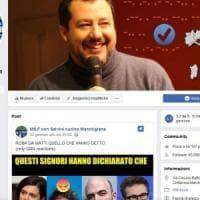 Il falso sito su Salvini raccoglie 63 mila fan. Molti leghisti non si accorgono della...