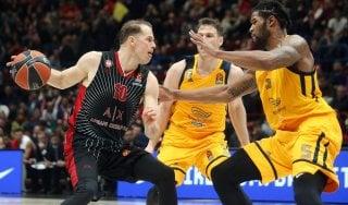 Basket, Eurolega: Milano, si complica il cammino play off. Il Khimki vince al Forum 69-78