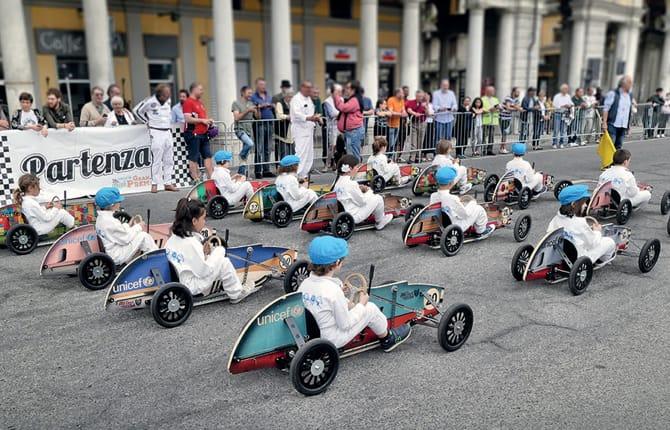 """Al via i """"Mini Gran Premi"""", gambe in spalla e pedalare"""