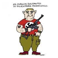 Strage ad Hanau, la vignetta di Altan
