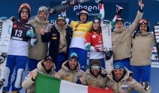 Snowboard: impresa Fischnaller, vince gigante Corea e coppa specialità