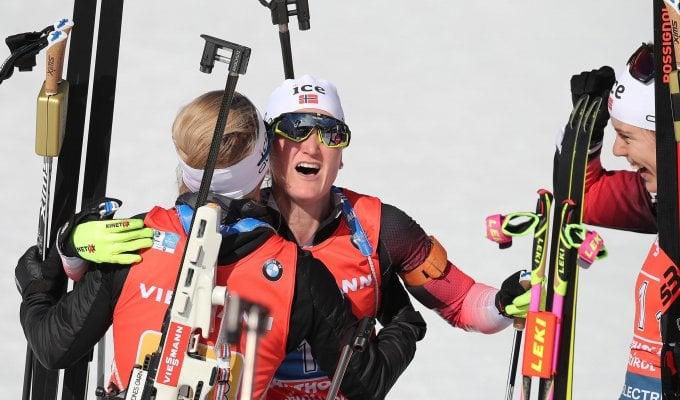 Biathlon, Mondiali: staffetta amara per l'Italia, le azzurre chiudono 10°. Gli uomini al 7° posto