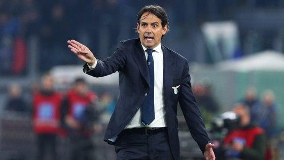 """Lazio, Inzaghi: """"Scudetto? Vedremo dove saremo ad aprile"""""""