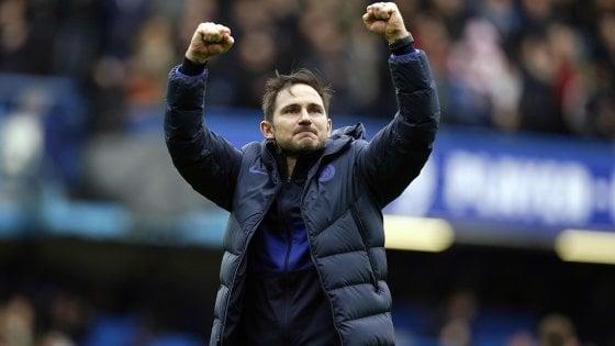 Premier League, Lampard batte Mourinho: il Chelsea si prende il derby