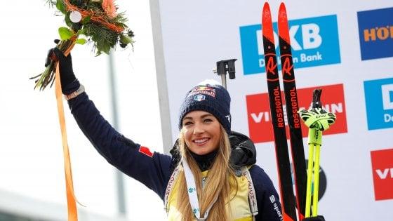 Biathlon, Mondiali: argento per Wierer nella Mass Start, trionfa Roiseland