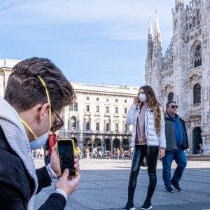 Coronavirus: Bar vuoti, turisti in fuga la corazzata, Milano