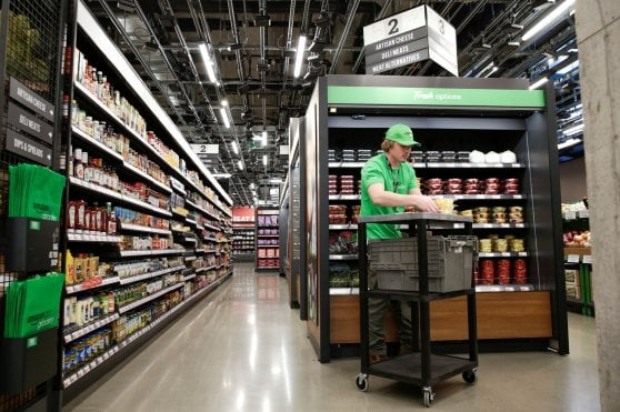 Amazon Go, apre il supermercato a Seattle: cibo fresco, senza (o quasi) commessi