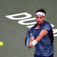 Tennis, Fognini guida gli azzurri per la sfida di Coppa Davis alla Corea del Sud. Prima volta per Mager e Travaglia