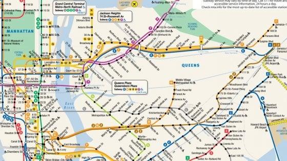 Cartina Roma Metro.Metropolitana Di New York E Morto Il Padre Della Mappa Iconica Una Delle Piu Consultate Al Mondo La Repubblica
