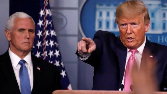 """Coronavirus, Trump: """"Italia in difficoltà, valuteremo se bloccare i voli, non ora"""". Australia inizia piano emergenza"""